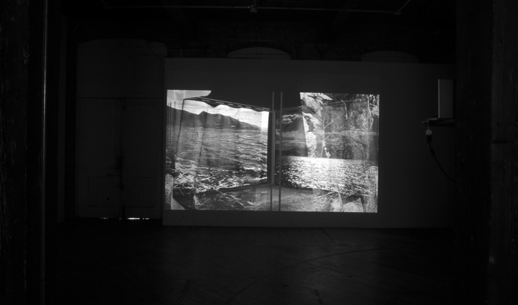 Yam Lau, <em>Scapeland II</em>, 2008. Video installation, detail.