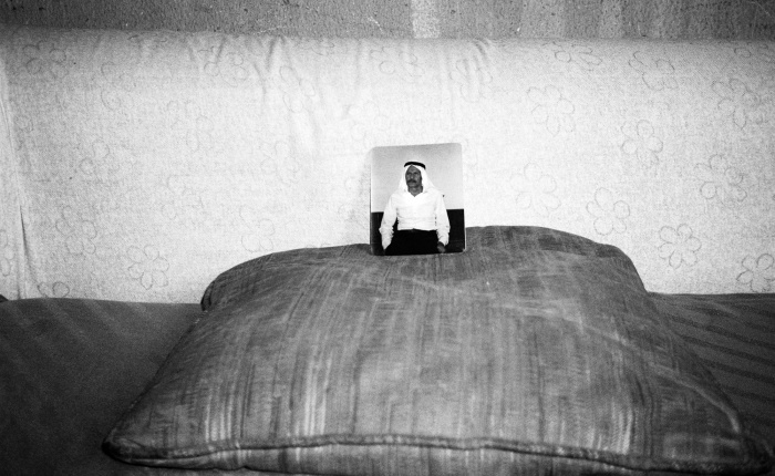Susan al-Khatib, <em>Sofas: A Series, 2007–08</em>, and <em>Doors: A Series, 2005–08</em>. From How Beautiful Is Panama! A photographic conversation from Burj al-Shamali camp, 2008.