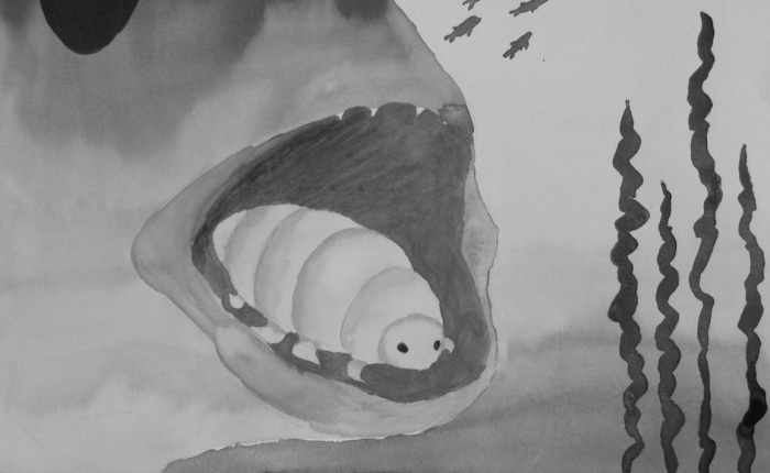 Max Smith, <em>Cymothoa Exigua (The Tongue-eating Louse)</em>.